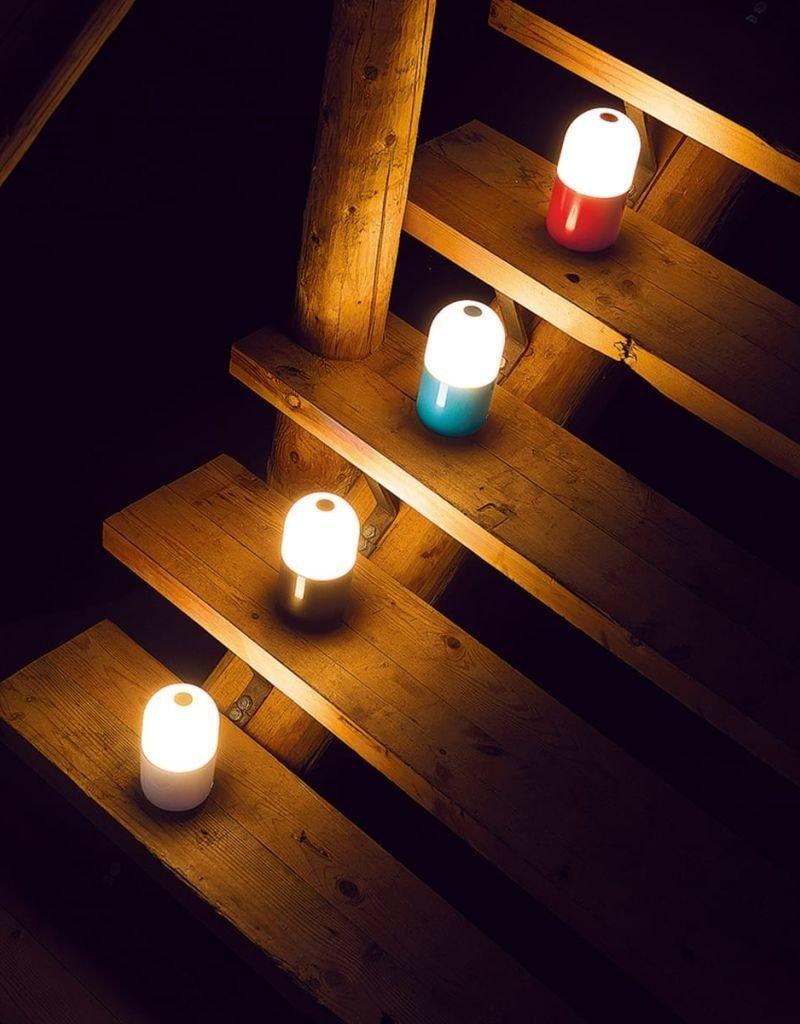 SMOOZ Bean nachtlamp/tafellamp rood 4508001