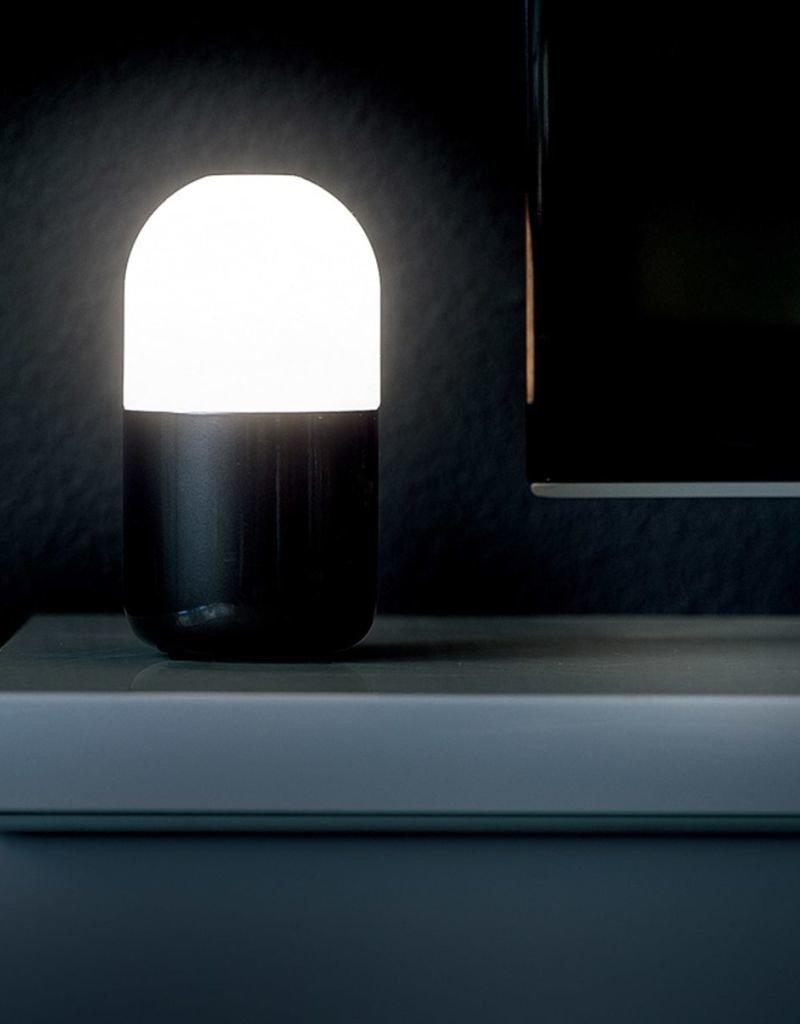 SMOOZ Bean nachtlamp/tafellamp zwart 4506231