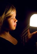 SMOOZ LED nachtlamp/tafellamp Bean geborsteld staal 4505601