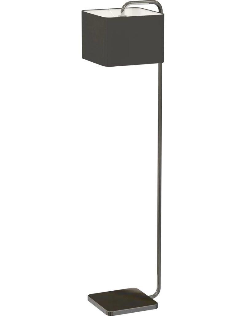 Antonio Miro Floor Lamp Cube Black Chrome