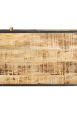 vidaXL Salontafel 100x50x35 cm massief mangohout