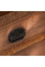 vidaXL Wandkast met 3 lades 40x30x130 cm massief mangohout