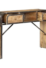vidaXL Dressoir 120x30x75 cm massief mangohout