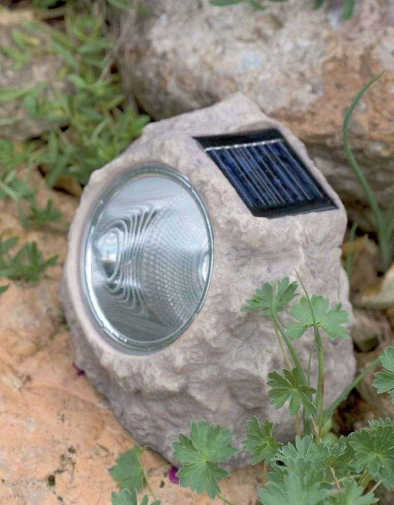 Luxform Tuinsteenlampen 3 st solar LED Andes
