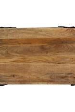 vidaXL Salontafel 115x60x40 cm massief mangohout