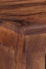 vidaXL Tv-meubel 110x30x40 cm massief sheeshamhout