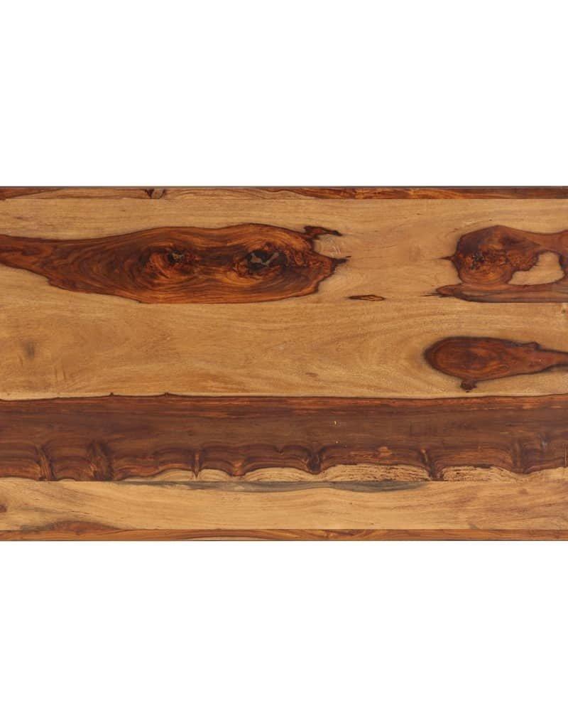 vidaXL Salontafel 120x60x40 cm massief sheeshamhout