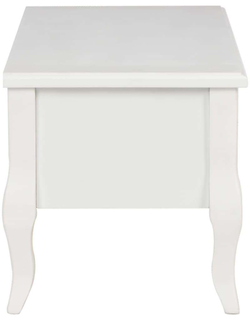 vidaXL Tv-meubel 100x35x35 grenenhout wit
