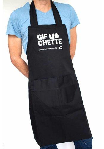 Keukenschort 'Gif mo chette'