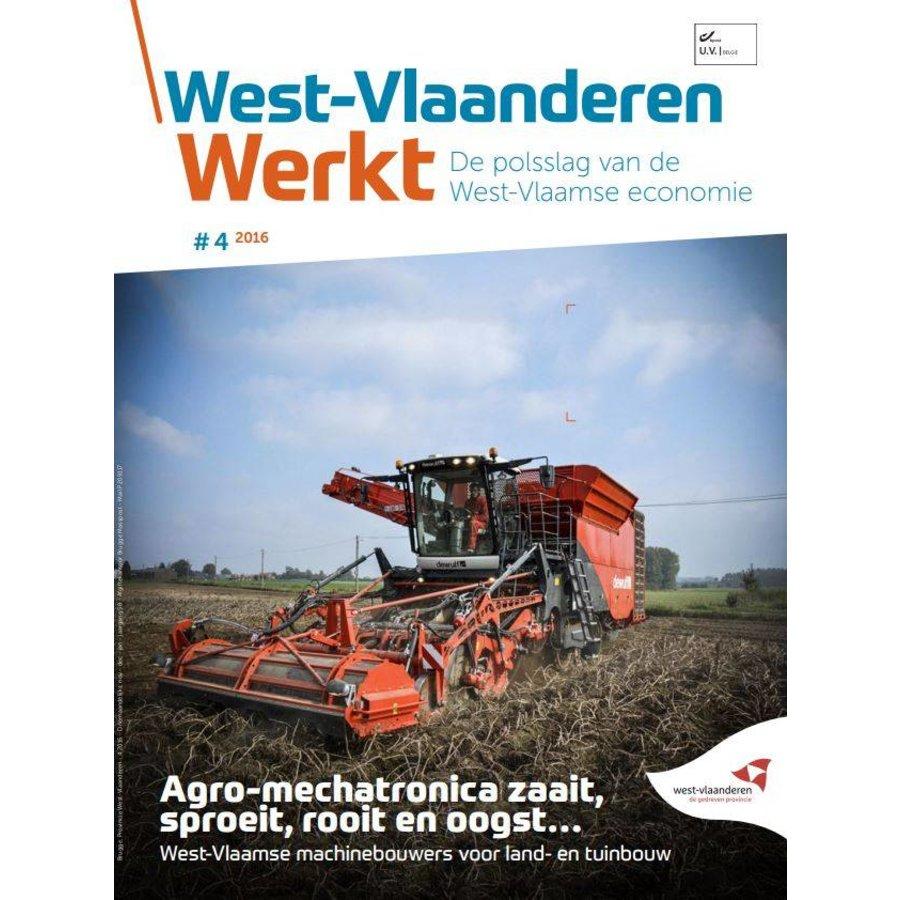 West-Vlaanderen Werkt 2016 | Nummer 4 | Agro-mechatronica zaait, sproeit, rooit en oogst-1