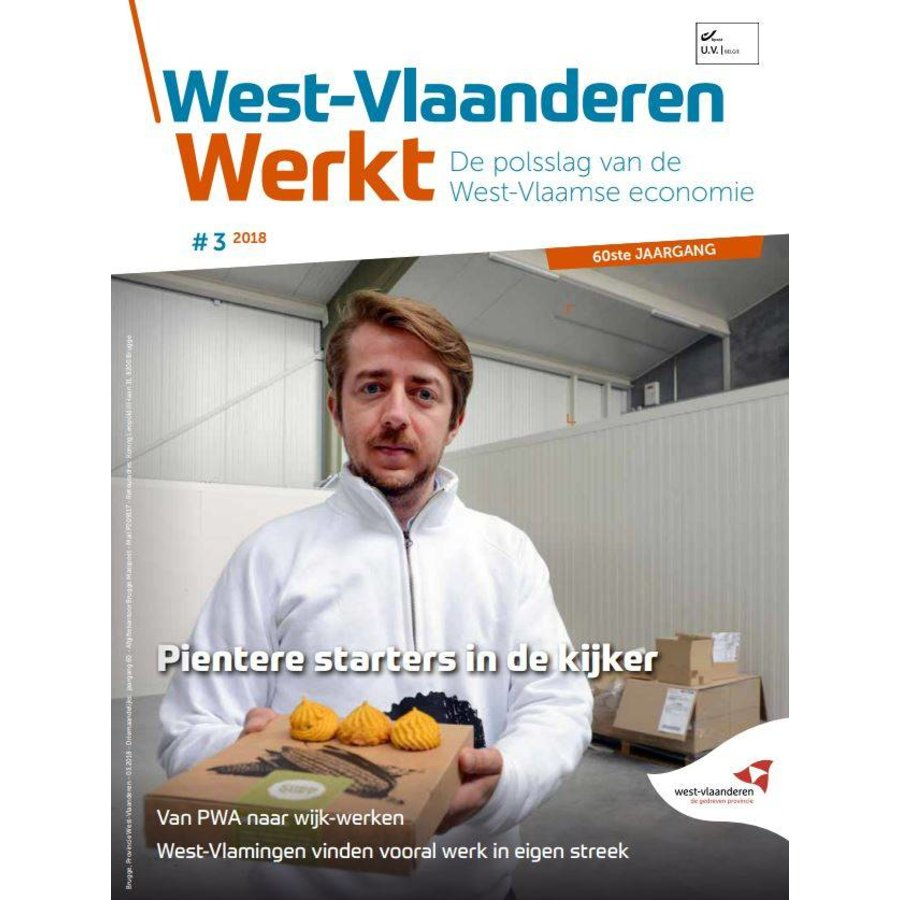 West-Vlaanderen Werkt 2018 | Nummer 3 |Pientere starters in de kijker-1