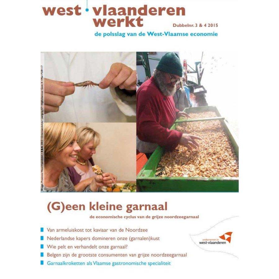 West-Vlaanderen Werkt 2015 | Nummer 3 & 4 | (G)een kleine garnaal-1