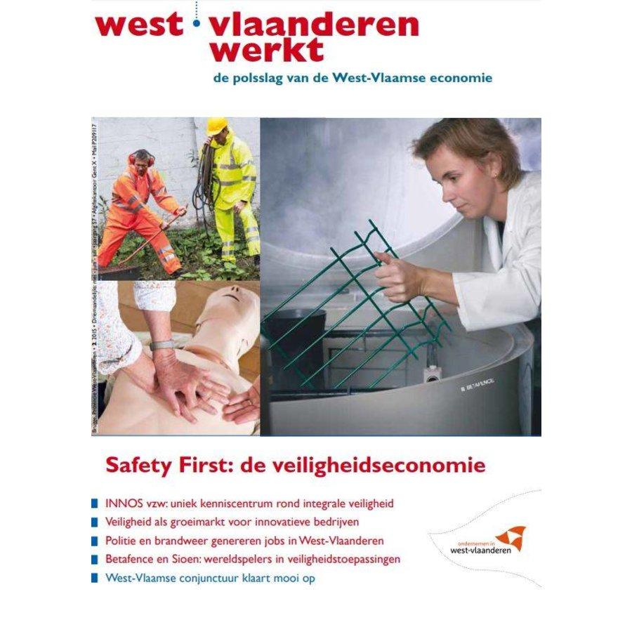 West-Vlaanderen Werkt 2015 | Nummer 2 | Safety First: de veiligheidseconomie-1