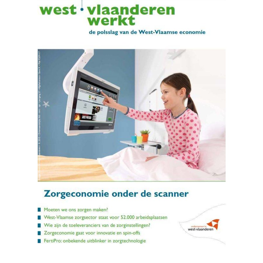 West-Vlaanderen Werkt 2015 | Nummer 1 | Zorgeconomie onder de scanner-1