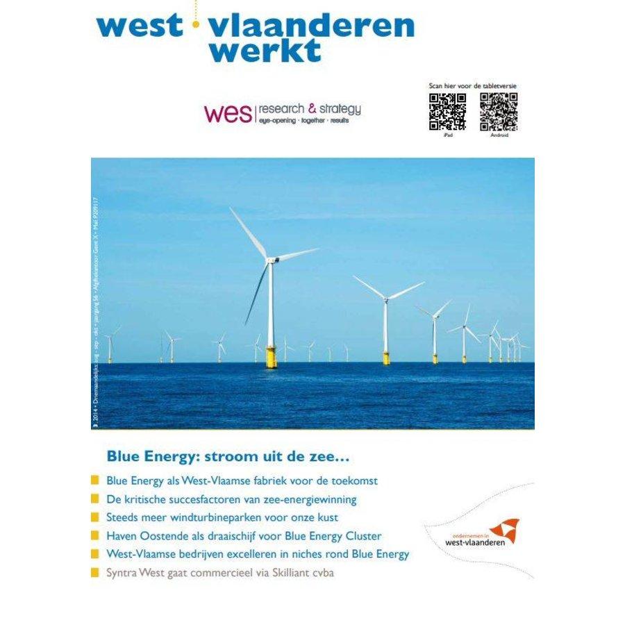 West-Vlaanderen Werkt 2014 | Nummer 3 | Blue Energy: Stroom uit de zee-1