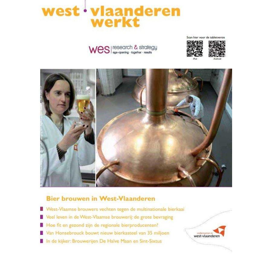 West-Vlaanderen Werkt 2014 | Nummer 2 | Bier brouwen in West-Vlaanderen-1