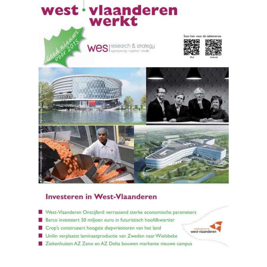 West-Vlaanderen Werkt 2014 | Nummer 4 |Investeren in West-Vlaanderen-1