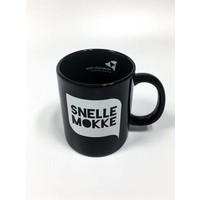 thumb-Koffiemok Zwart - 'Snelle Mokke'-1