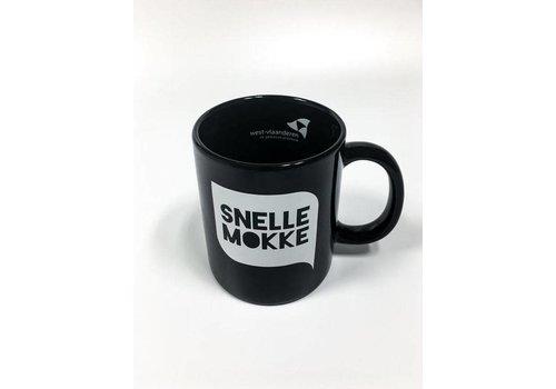 Koffiemok Zwart - 'Snelle Mokke'