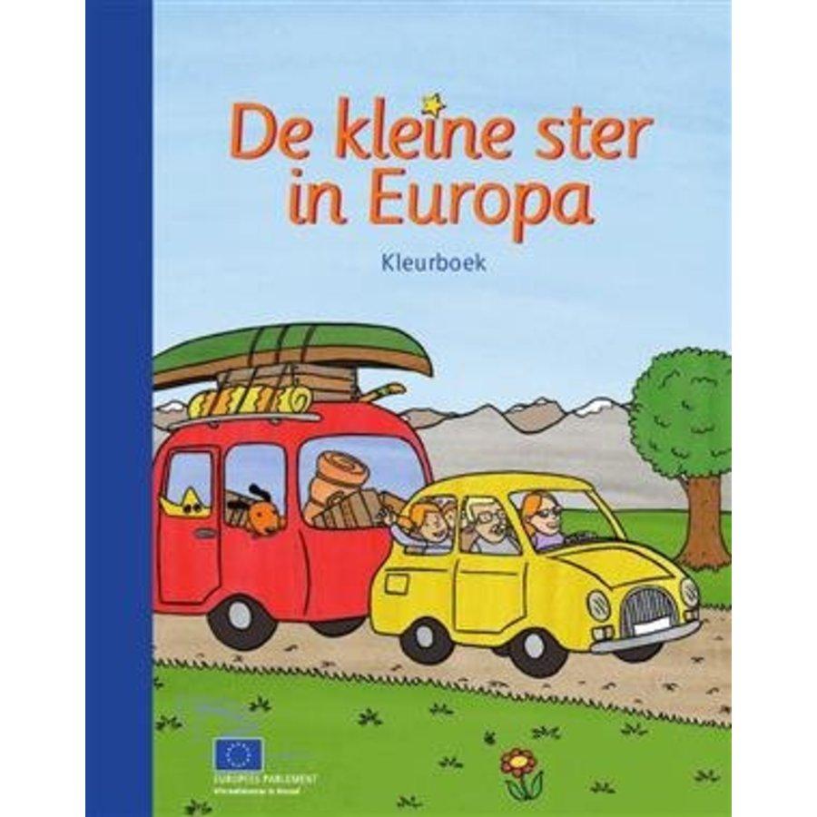 De kleine ster van Europa - Kleurboek voor kleuter-en basisonderwijs-1