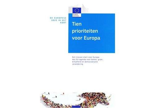 De EU in het kort - Tien prioriteiten voor Europa