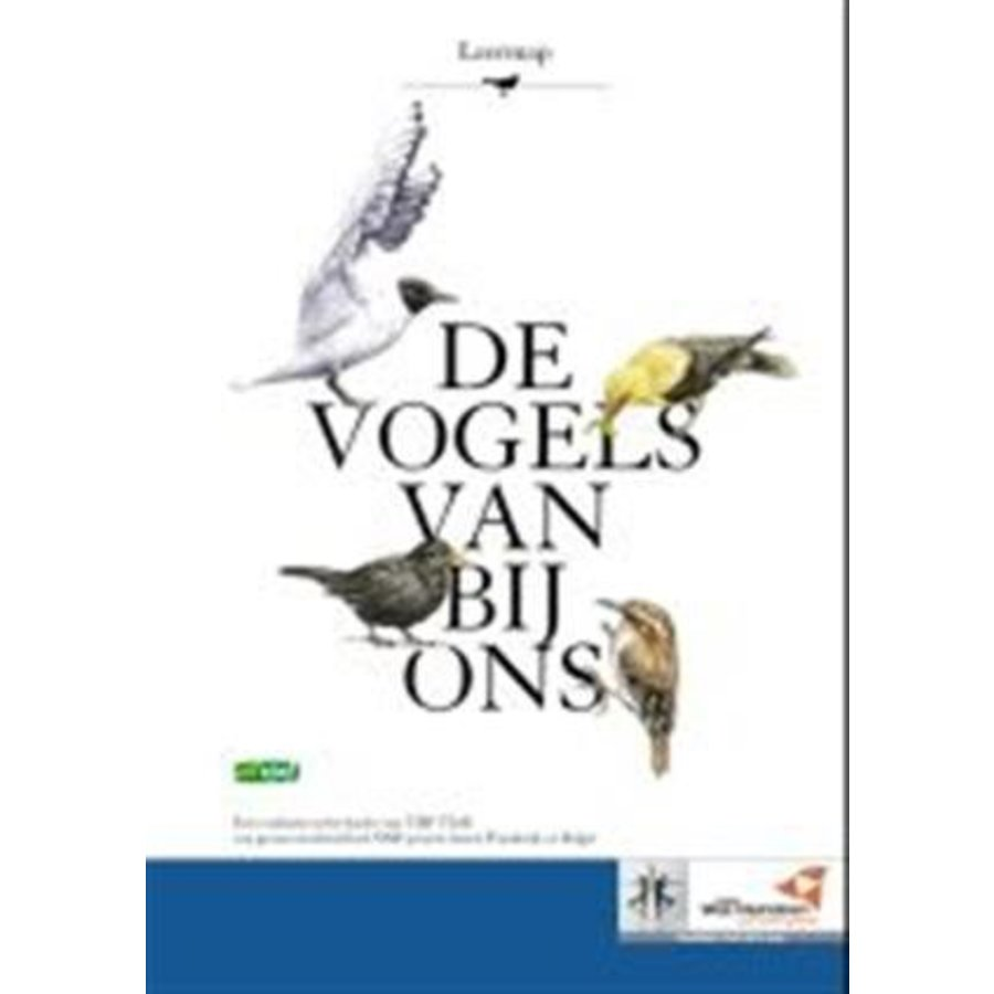 Leermap 'De vogels van bij ons'-1