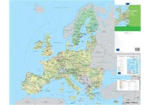 Landbouwkaart van de Europese Unie