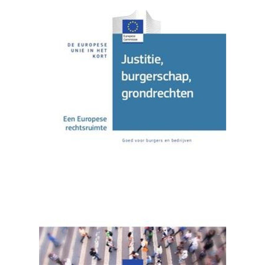 De EU in het kort - Justitie, burgerschap, grondrechten-1