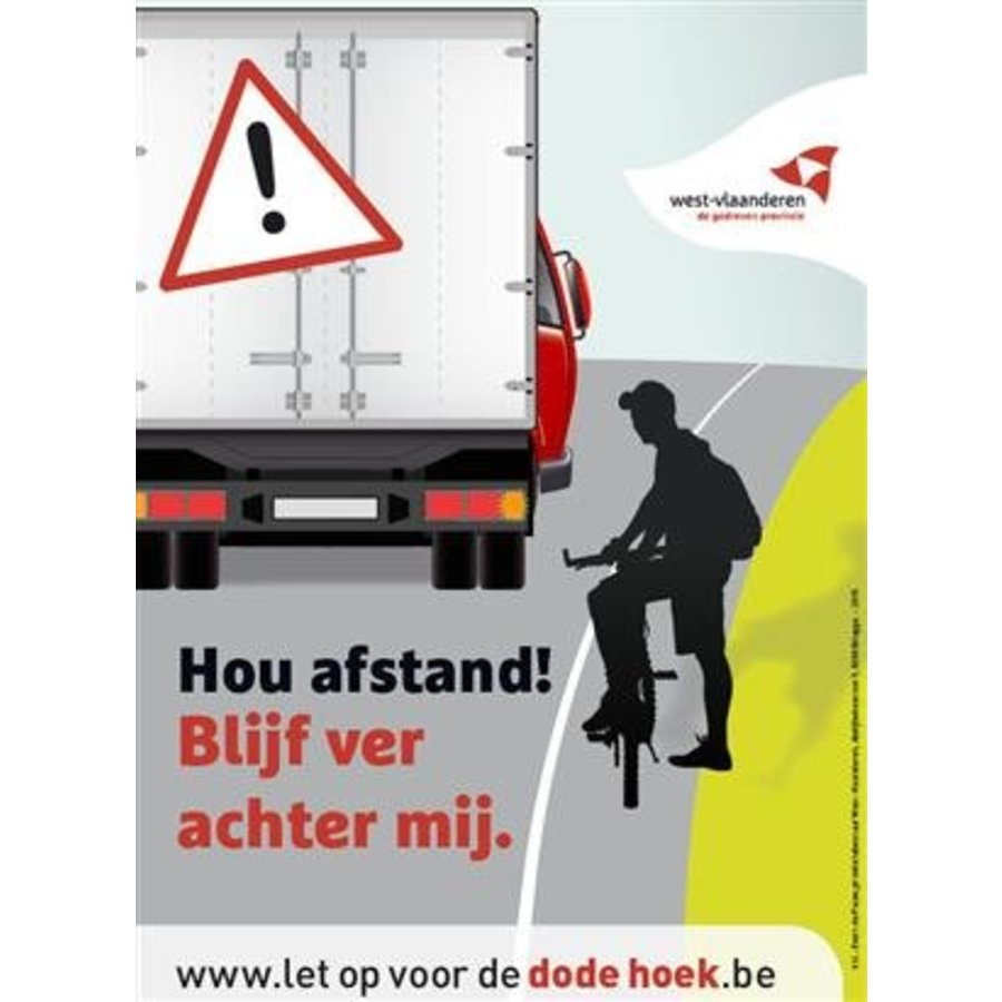 Sticker dode hoek-1
