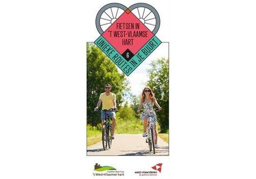 Fietskaart 'Fietsen in 't West-Vlaamse hart'