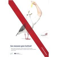 Affiche tegen meeuwenoverlast