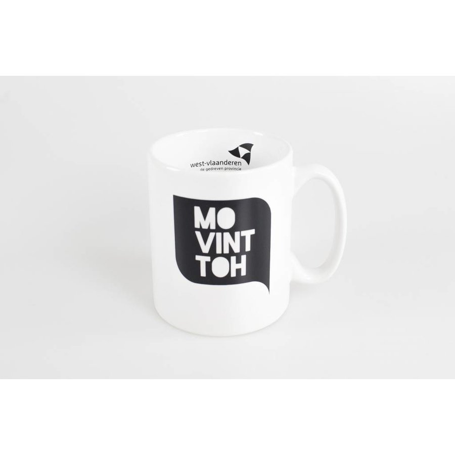 Koffiemok Wit - 'Mo vint toh'-2