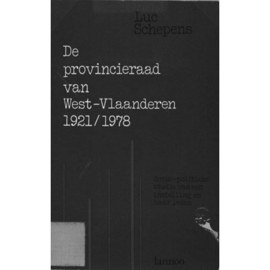 De provincieraad van West-Vlaanderen 1921 - 1978-1