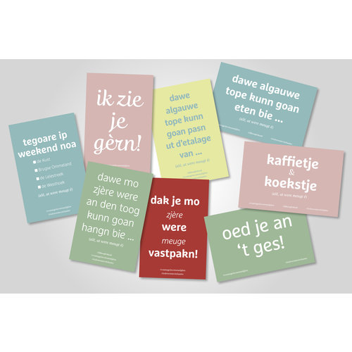 Couragekartjes (set van 8 kaartjes)