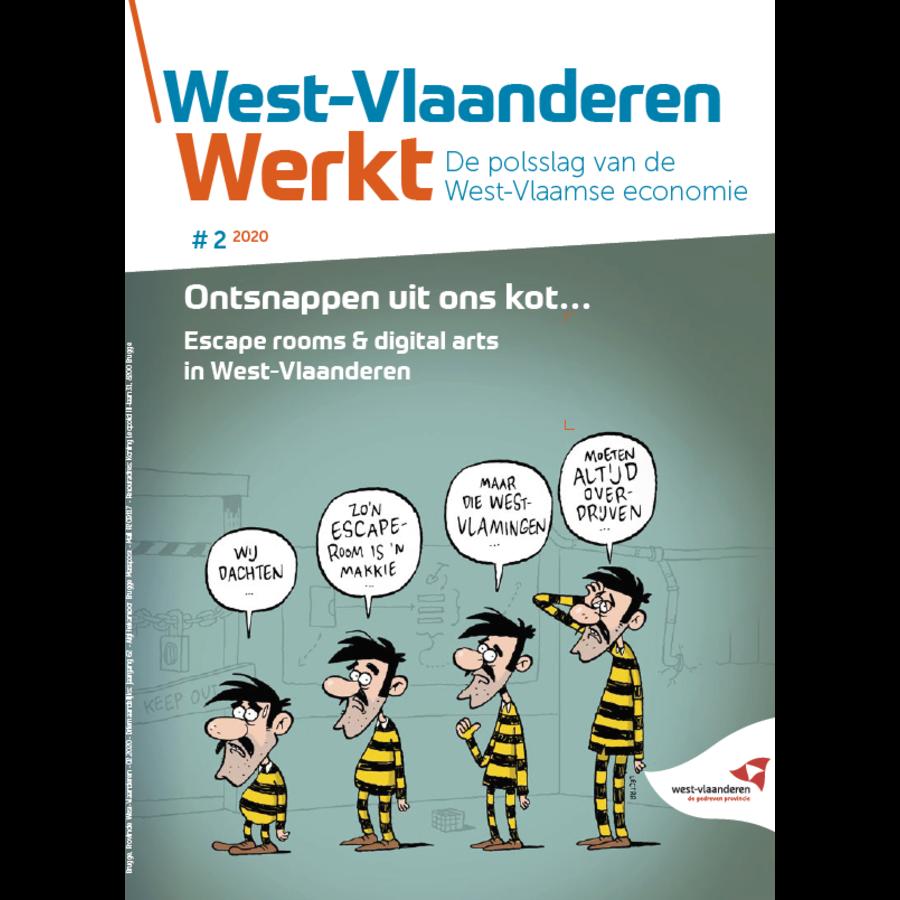 West-Vlaanderen Werkt 2020 nr 2 - West-Vlaanderen is de Belgische bakermat van escape rooms-1
