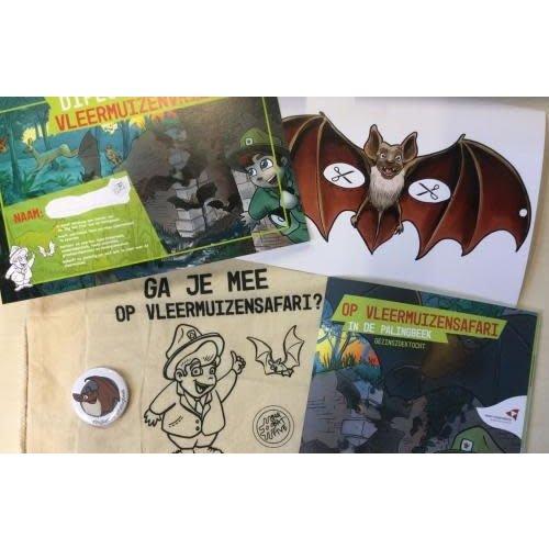 Gezinszoektocht 'Op Vleermuizensafari in de Palingbeek'