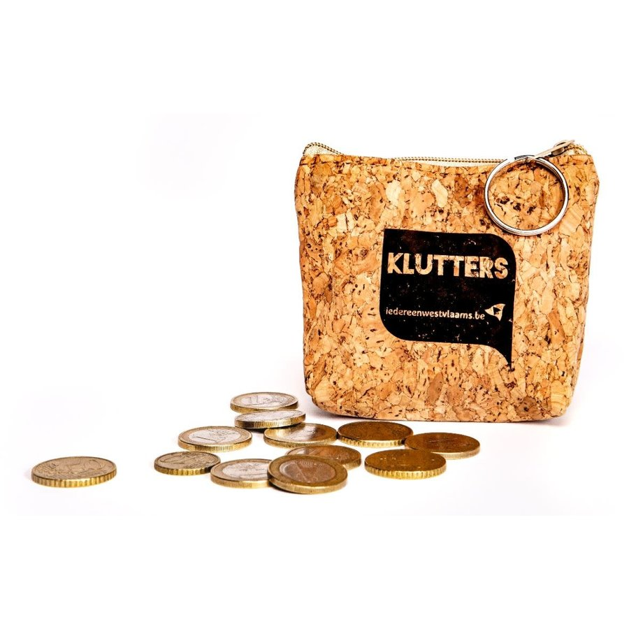 Kurken geldbeugel - klutters-1