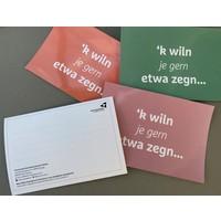 Postkaart 'k wil je gern etwa zegn