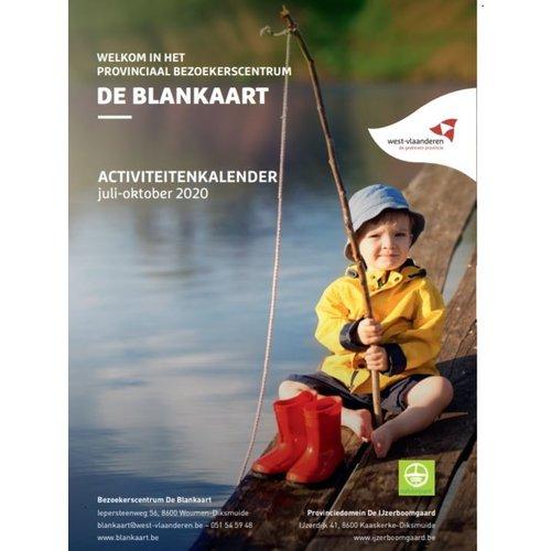 Activiteitenkalender De Blankaart - juli-oktober 2020