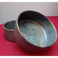 thumb-Kom keramiek blauw-grijs-1