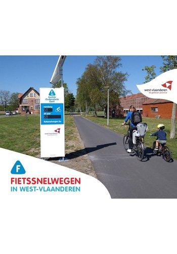Fietssnelwegen in West-Vlaanderen