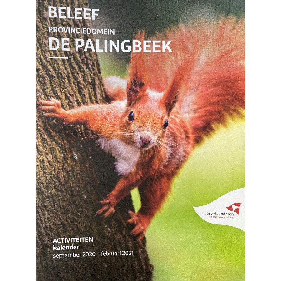 Beleef provinciedomein De Palingbeek - activiteitenkalender september 2020 - februari 2021-1