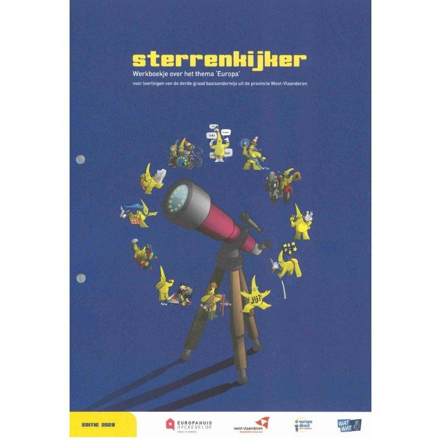 Sterrenkijker - werkboekje over Europa-1