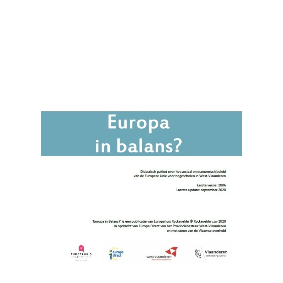 Educatief pakket 'Europa in balans'-1
