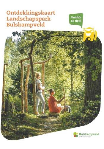 Ontdekkingskaart Landschapspark Bulskampveld