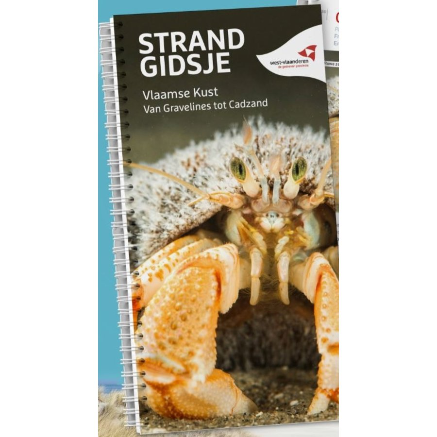 Strandgidsje Vlaamse Kust - Van Gravelines tot Cadzand-1