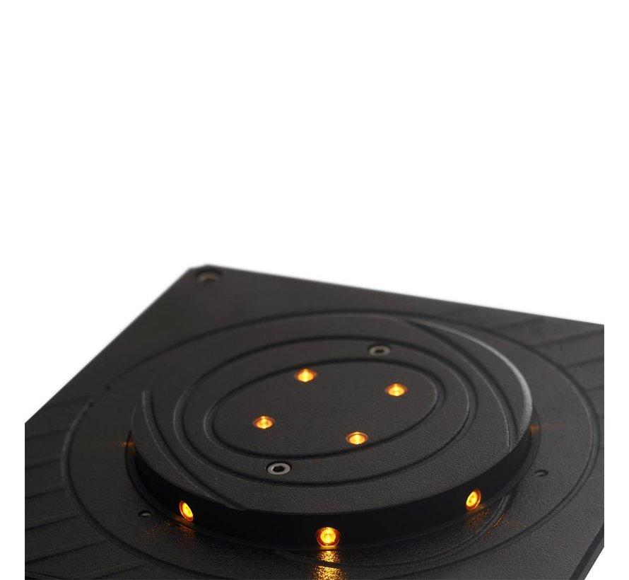 CENTURION intrekbare veiligheidspaal elektrisch bediend diameter 115mm x 500mm hoog