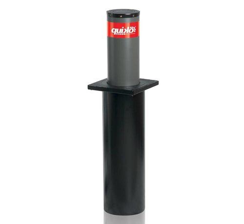 Quiko CENTURION vaste veiligheidspaal met LED verlichtingvoor inbouw in de grond inclusief fundatiepaal 219mm diameter x 500mm hoog