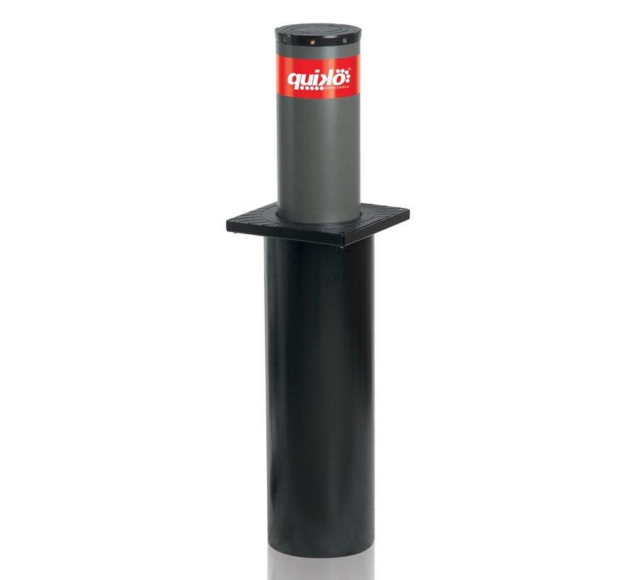 CENTURION vaste veiligheidspaal met LED verlichtingvoor inbouw in de grond inclusief fundatiepaal 219mm diameter x 500mm hoog