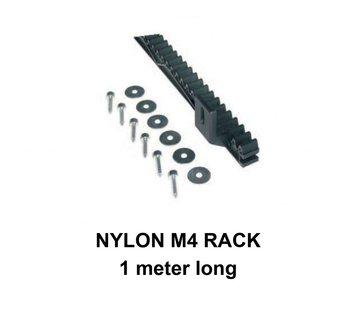Quiko M4 NYLON rack met stalen kern